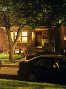 GAF L-ES, June 2013, Tripp Street at Night, Cropped