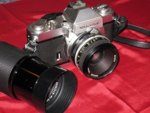 Nikkormat FT2 and Zoom Lens