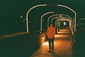 Canon QL 17 Saigon, Woman at Starved Rock at Night