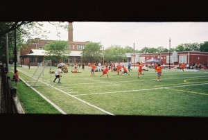 Rollei Prego 90, Panoramic - Soccer Game