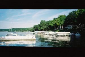 Rollei Prego 90, Panoramic - Lake Geneva, Wisconsin, Boats