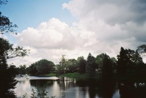 Rollei Prego 90, Pond and Sky, Underexposed