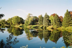 Canon QL17, Beautiful Pond, Mount Prospect, IL