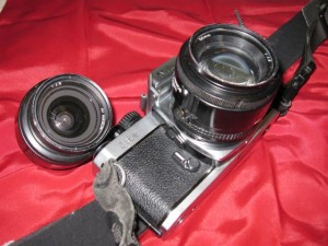 Nikon FM2 and Two Lenses