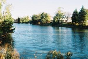 Kodak Motormatic 35, Mount Prospect, IL Pond