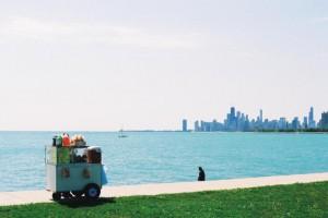 Nikon FM2, Montrose Harbor, Chicago, IL
