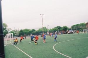 Nikon FM2, Soccer at Kilbourn Park, Chicago, IL