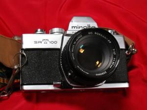 Minolta SRT 100, Front View
