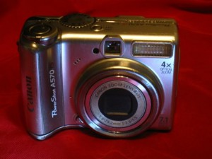 Canon PowerShot A570 Repaired Front
