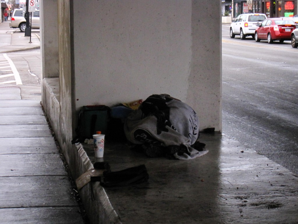 Old Irving, Chicago - Homeless Person