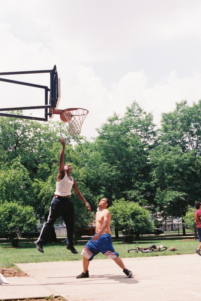 Nikon FE, June 2013, Basketball at Kilbourn Park, Quick Layup