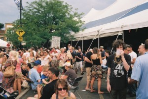 Canonet QL17, GIII, Mt. Pulaski - September 2013, Chicago German Day - Beer Tent