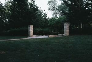 Ricoh KR-5, Portage Park Garden Entrance